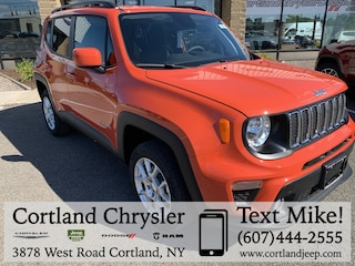 New 2019 Jeep Renegade LATITUDE 4X4 Sport Utility for sale in Cortland, NY
