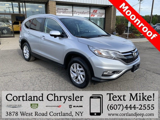 Used 2015 Honda CR-V EX-L SUV for sale in Cortland, NY