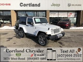 New 2018 Jeep Wrangler JK SAHARA 4X4 Sport Utility for sale in Cortland, NY