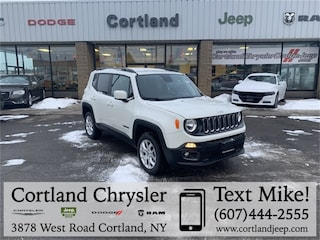New 2018 Jeep Renegade LATITUDE 4X4 Sport Utility 2185280 for sale in Cortland, NY