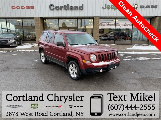 Used 2014 Jeep Patriot Latitude SUV for sale in Cortland, NY