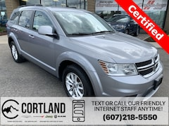 Certified Pre-Owned 2015 Dodge Journey SXT SUV 3C4PDDBG6FT755539 for Sale in Cortland, NY