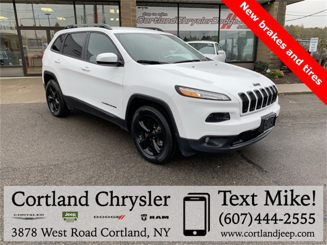 Used 2016 Jeep Cherokee Altitude SUV for sale in Cortland, NY