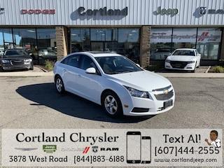 Used 2013 Chevrolet Cruze 1LT Sedan 2185481 for sale in Cortland, NY