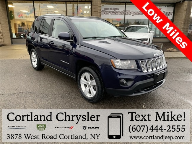 Used 2014 Jeep Compass Latitude SUV for sale in Cortland, NY