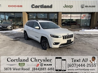 New 2019 Jeep Cherokee HIGH ALTITUDE 4X4 Sport Utility 2192000 for sale in Cortland, NY