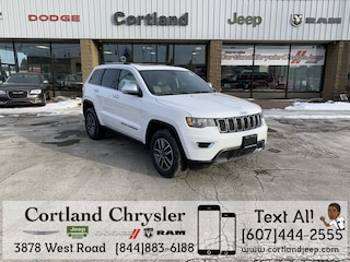 New 2019 Jeep Grand Cherokee LIMITED 4X4 Sport Utility 2192470 for sale in Cortland, NY