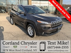 Certified Pre-Owned 2016 Jeep Cherokee Latitude SUV 1C4PJMCB7GW119624 for Sale in Cortland, NY