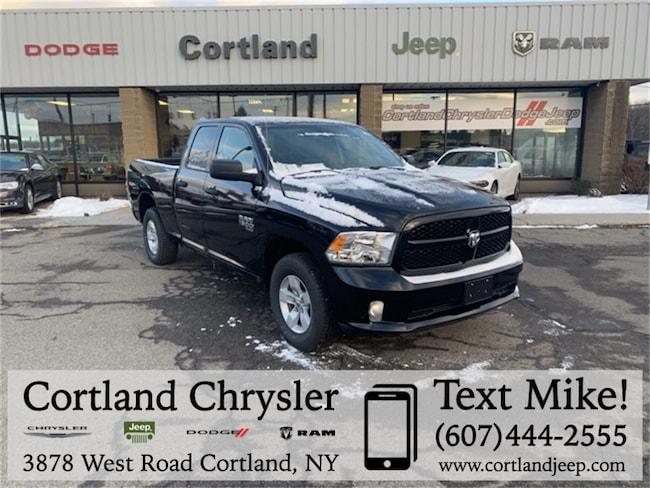 New 2019 Ram 1500 CLASSIC EXPRESS QUAD CAB 4X4 6'4 BOX Quad Cab Cortland, NY