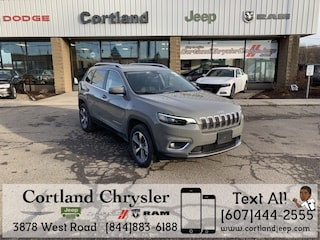 New 2019 Jeep Cherokee LIMITED 4X4 Sport Utility 2192230 for sale in Cortland, NY