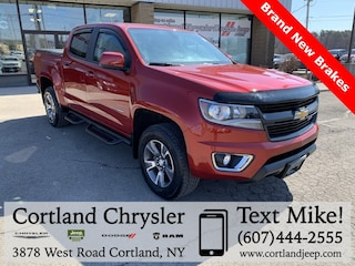Used 2015 Chevrolet Colorado Z71 Truck 2182861 for sale in Cortland, NY