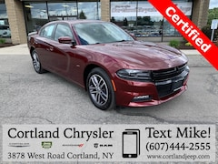 Certified Pre-Owned 2018 Dodge Charger GT Sedan 2C3CDXJG6JH223795 for Sale in Cortland, NY
