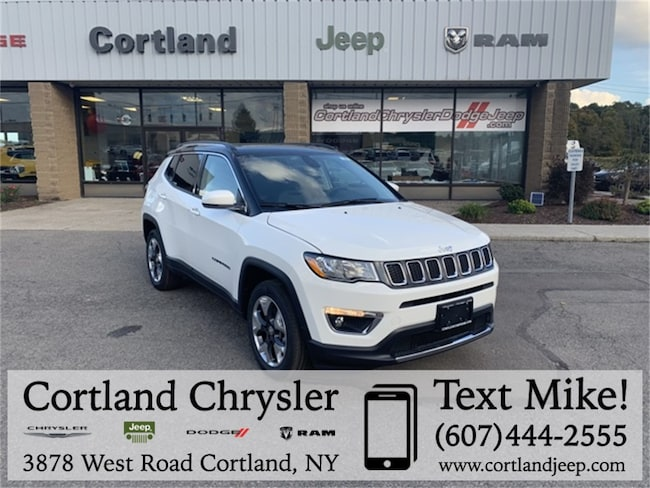 New 2019 Jeep Compass LIMITED 4X4 Sport Utility Cortland, NY