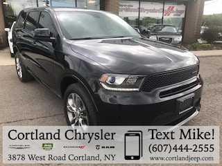 New 2019 Dodge Durango GT AWD Sport Utility for sale in Cortland, NY