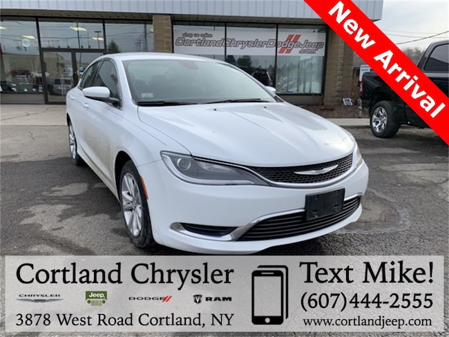 Used 2015 Chrysler 200 Limited Sedan for sale in Fayetteville, NY