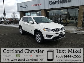 New 2019 Jeep Compass LATITUDE 4X4 Sport Utility 2192730 for sale in Cortland, NY