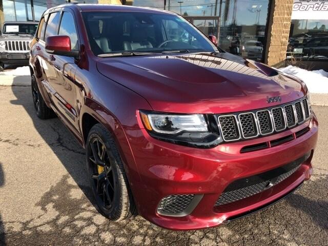 ... New 2018 Jeep Grand Cherokee TRACKHAWK 4X4 Sport Utility Cortland, NY  ...