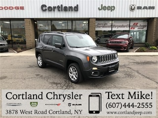 New 2018 Jeep Renegade LATITUDE 4X4 Sport Utility 2184930 for sale in Cortland, NY