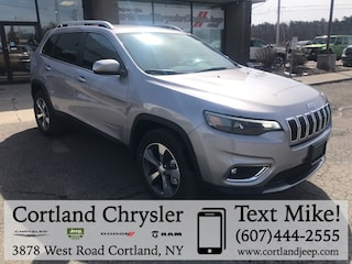 New 2019 Jeep Cherokee LIMITED 4X4 Sport Utility 2192900 for sale in Cortland, NY
