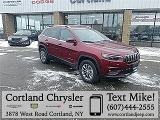 New 2019 Jeep Cherokee LATITUDE PLUS 4X4 Sport Utility 2193110 for sale in Cortland, NY