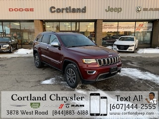 New 2019 Jeep Grand Cherokee LIMITED 4X4 Sport Utility 2191820 for sale in Cortland, NY