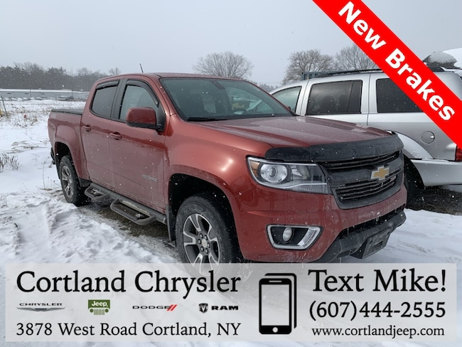 Used 2015 Chevrolet Colorado Z71 Truck for sale in Cortland, NY