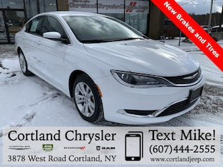 Used 2015 Chrysler 200 Limited Sedan 2025269 for sale in Cortland, NY
