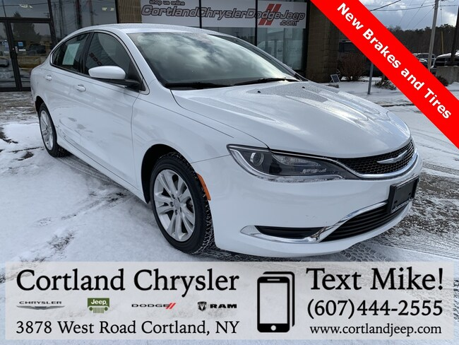 Used 2015 Chrysler 200 Limited Sedan for sale in Cortland, NY