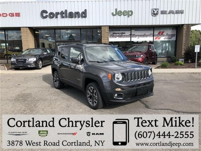 New 2018 Jeep Renegade LATITUDE 4X4 Sport Utility Cortland, NY