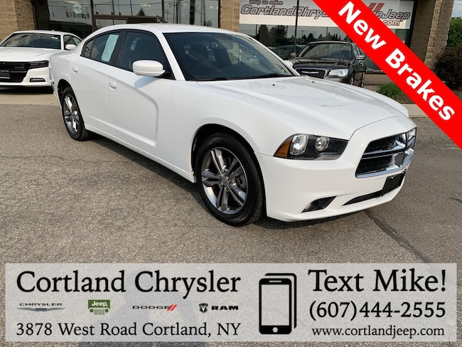 Used 2014 Dodge Charger SXT Sedan for sale in Cortland, NY