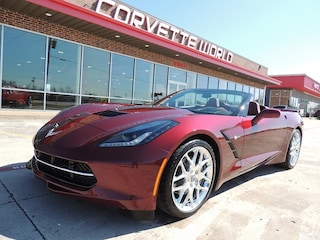 2016 Chevrolet Corvette 3LT ZF1 Convertible (Loaded, Spice Red Design Pkg!) Convertible