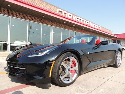 2014 Chevrolet Corvette 3LT Convertible (Auto, Comp Seats, Carbon Fiber!) Convertible