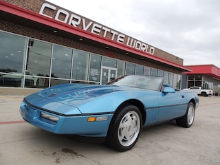 1989 Chevrolet Corvette Convertible (Auto, Low Miles, Immaculate!!!) Convertible