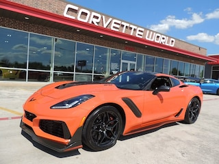2019 Chevrolet Corvette 3ZR ZTK ZR1 Coupe (Sebring Orange Design Pkg!) Coupe