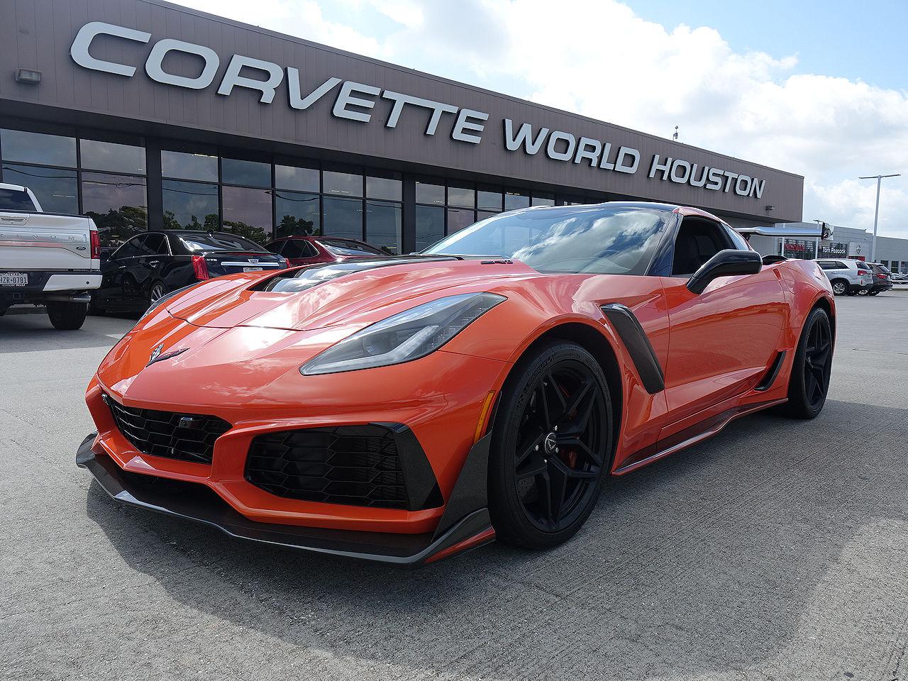 2019 Chevrolet Corvette ZR1 Coupe 3ZR ZTK Track Pkg  Coupe