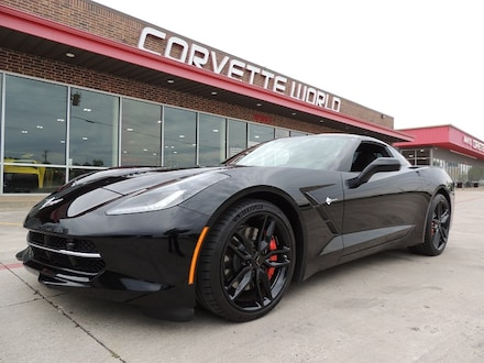 2016 Chevrolet Corvette 3LT Z51 Coupe (7 Speed, Loaded!) Coupe