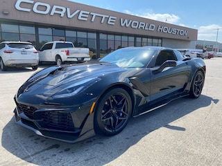 2019 Chevrolet Corvette ZR1 Coupe 3ZR ZTK RARE 7-Speed Coupe