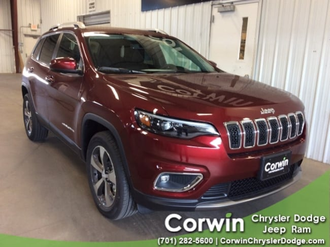 For Sale in Fargo: New 2019 Jeep Cherokee LIMITED 4X4 Sport Utility