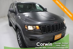 Certified Pre-Owned 2017 Jeep Grand Cherokee Trailhawk 4x4 SUV dealer in Fargo - inventory