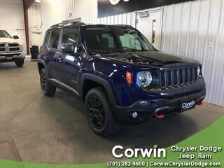 New 2018 Jeep Renegade TRAILHAWK 4X4 Sport Utility dealer in Fargo ND - inventory