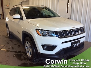 New 2019 Jeep Compass LATITUDE 4X4 Sport Utility dealer in Fargo ND - inventory