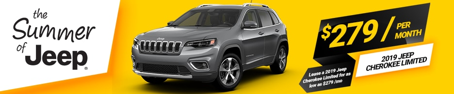 Jeep Cherokee Limited Lease