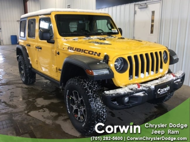 For Sale in Fargo: New 2019 Jeep Wrangler UNLIMITED RUBICON 4X4 Sport Utility