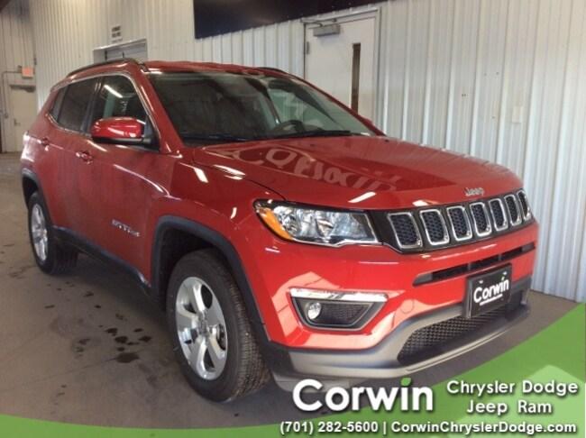 For Sale in Fargo: New 2019 Jeep Compass LATITUDE 4X4 Sport Utility