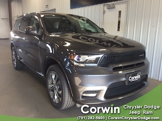 New 2019 Dodge Durango GT AWD Sport Utility dealer in Fargo ND - inventory