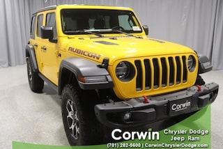 New 2021 Jeep Wrangler UNLIMITED RUBICON 4X4 Sport Utility in Fargo, ND
