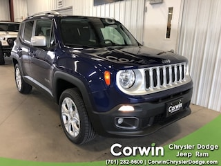 New 2018 Jeep Renegade LIMITED 4X4 Sport Utility dealer in Fargo ND - inventory