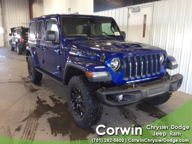 For Sale in Fargo: New 2019 Jeep Wrangler UNLIMITED MOAB 4X4 Sport Utility