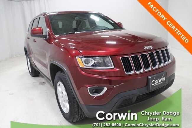 Certified Used 2016 Jeep Grand Cherokee In Fargo Nd