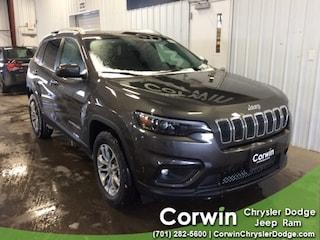 New 2019 Jeep Cherokee LATITUDE PLUS 4X4 Sport Utility dealer in Fargo ND - inventory